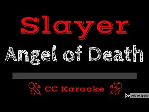 Slayer • Angel Of Death (CC) [Karaoke Instrumental Lyrics]