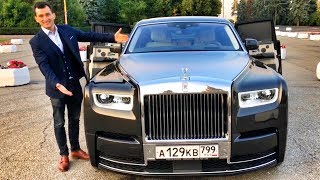 45 МЛН РУБ Тест НОВОГО 571 л.с. V12 ROLLS-ROYCE PHANTOM