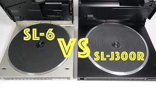 Compact tech-filled Technics Turntables -  old vs older