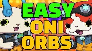 BEST Way How To Farm & Grind INFINITE Oni Orbs in Yo-kai Watch Blasters EASY!