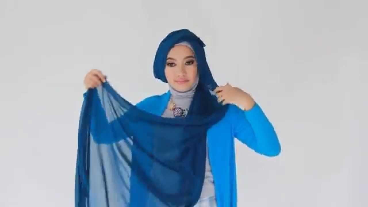 24 Gambar Terbaru Tutorial Hijab Segi Empat Ootd Terlengkap