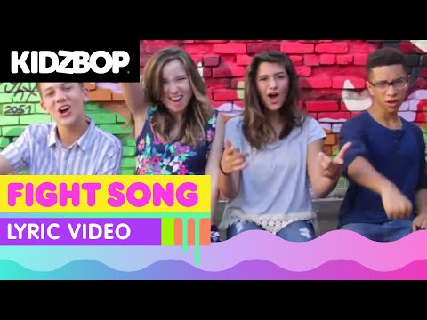 KIDZ BOP Kids – Fight Song (Official Lyric Video) [KIDZ BOP 30]