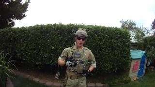 Air Force Para Rescue Men Airsoft Multicam Loadout