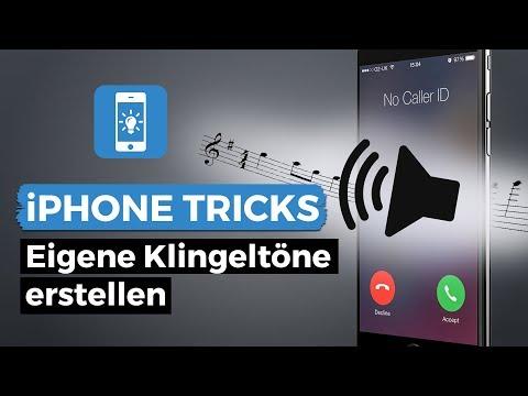 Klingelton am iPhone ändern! Eigenen Klingelton leicht erstellen!