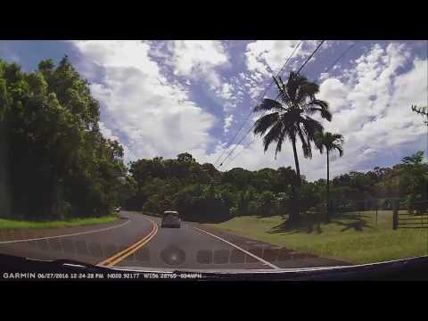 Full Drive Road to Hana Hawaii Hwy 36 from Paia, Maui
