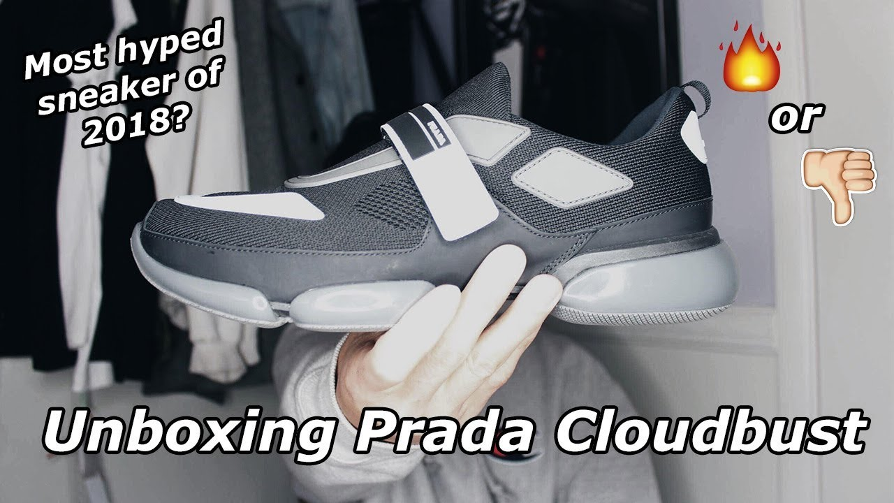 14a570afb239 UNBOXING PRADA CLOUDBUST (Most Hype Sneaker Of 2018 ) - YouTube