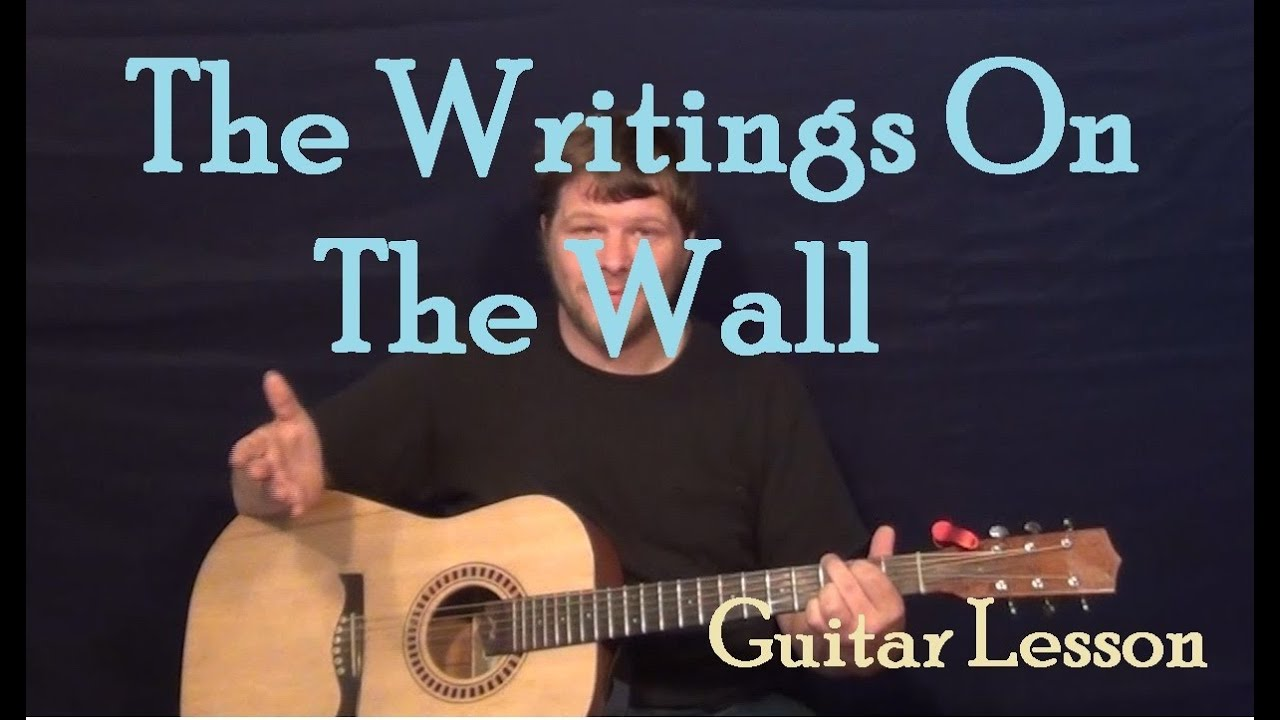 The Writings On The Wall Ok Go Easy Guitar Lesson How To Play