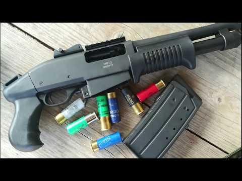 Prova A Fuoco SDM 870 Shorty Pistola Calibro 12