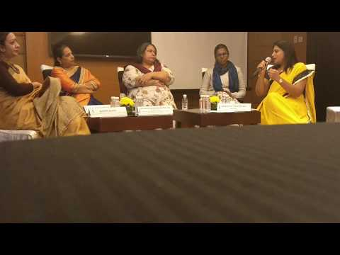 "Panel discussion ""Educate to Enable"" at Soroptimist Bangalore, 26th Nov 2017, Ritz Carlton"