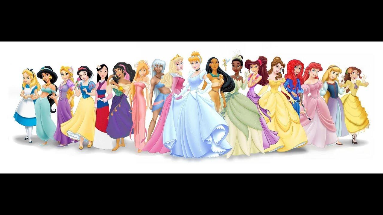 Famosas Que Se Parecem Com As Princesas Da Disney Youtube