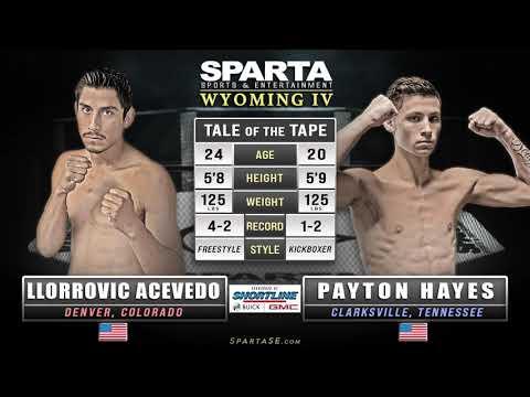 Sparta Wyoming 4 Acevedo vs Hayes MMA