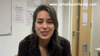 Estudiante en IS Ireland Dublin Ana María García de nacionalidad Colombia
