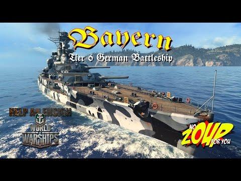 World of Warships Bayern Review