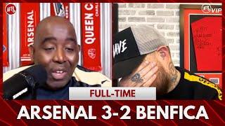 Arsenal 3-2 Benfica | I'm Emotional (DT)