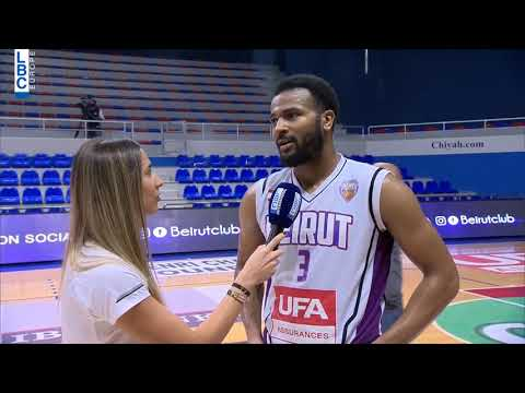 Alfa Basketball Championship - Beirut v Mouttahed - Post Game Chris Crawford