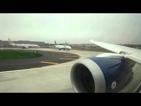 Azerbaijan Airlines (AZAL) Take-off from JFK