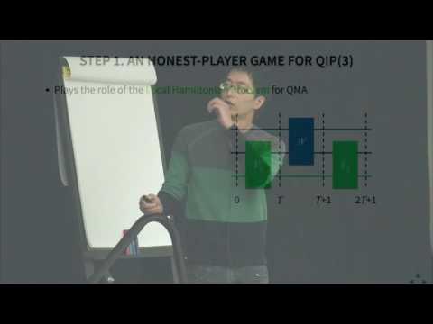 Zhengfeng Ji: Compression of quantum multi-prover interactive proofs
