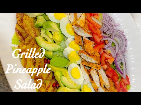 grilled-pineapple-and-chicken-salad