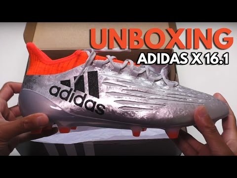 adidas X16.1- Unboxing Chaussures de foot - YouTube