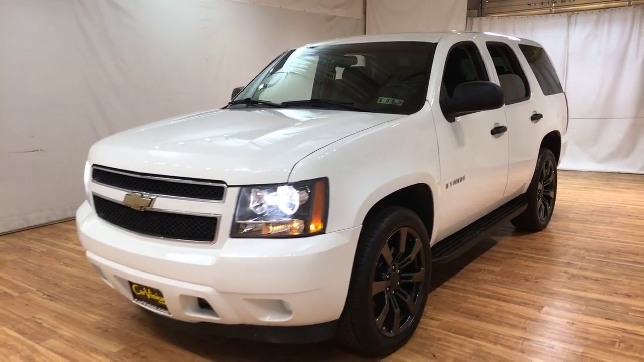 2008 Chevrolet Tahoe Ls Carvision