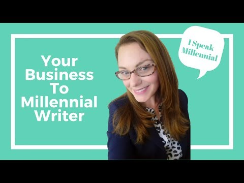Your Business To Millennial Writer | LoriHil.com