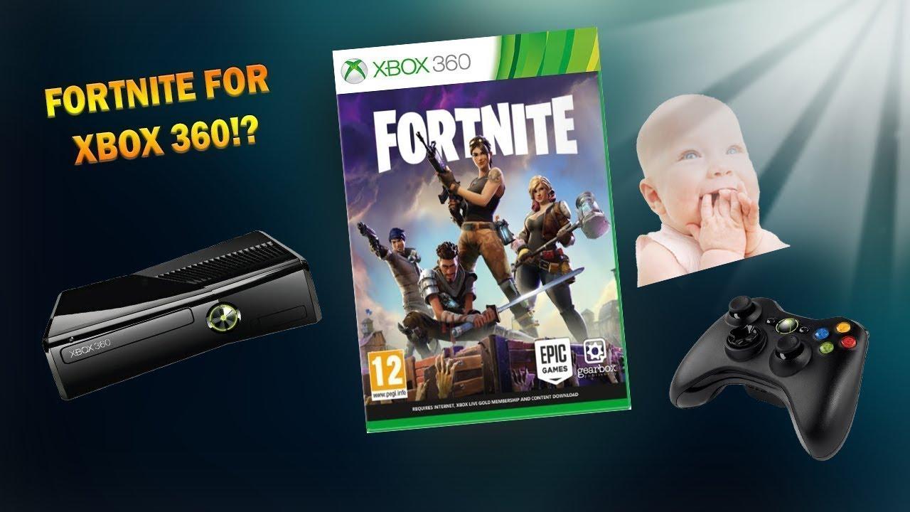 Fortnite on xbox 360!!! - YouTube