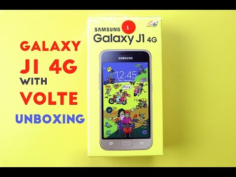 wholesale dealer 1aa9d 832da Samsung Galaxy J1 4G with VoLTE Unboxing Hands on Review - YouTube