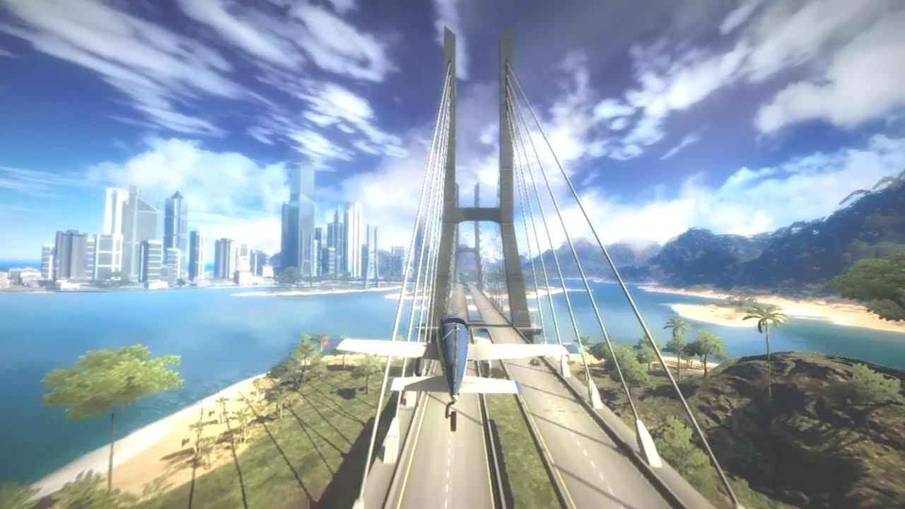 Just Cause 2: Anatomy of a Stunt - Joyride of Death Trailer - YouTube