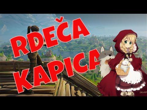 RDEČA KAPICA! | Fortnite Battle Royale [SLO]