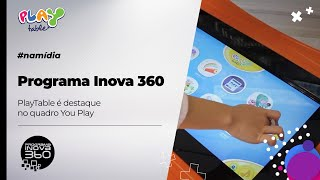 Programa Inova360 | PlayTable