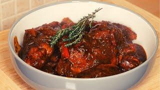Sunday Dinner   How To Make Jamaican Brown Stew Chicken ! #JamaicanChef #StewChicken