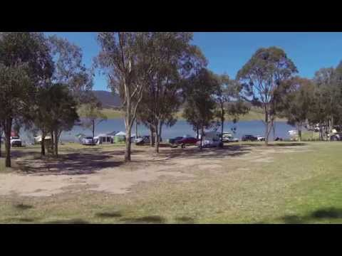 Lake St Clair Campground, St Clair