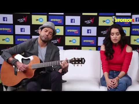 Watch Shraddha Kapoor Singing LIVE 'Tere Mere Dil' Song | SpotboyE Exclusive