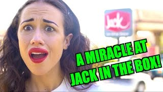A MIRACLE AT JACK IN BOX!