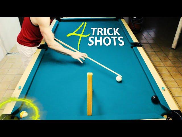 4 Pool Trick Shots: Volume 18