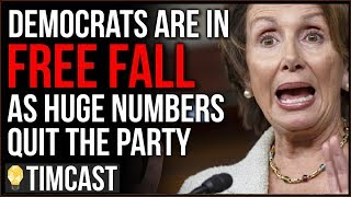MASSIVE Numbers Of Democrats Are Quitting The Democratic Party, Trump Now Polling Highest EVER - Tim