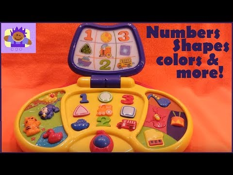 Small world express preschool learning interactive musical laptop toy