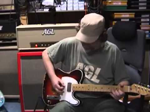 AGL Andy Summers style TE guitar job - YouTube Les Paul Wiring Diagram Boost Db on