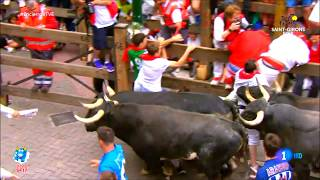 San Fermin 2017 - Running of the bulls 2017 compilation