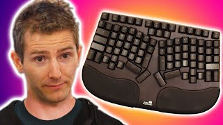 Robot Linus Reviews a Keyboard - Deepfake - Cleave Truly Ergonomic