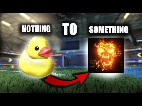 FROM NOTHING TO HELLFIRE!! - Ep.1 | Rocket League Trading From Nothing to Something Ps4