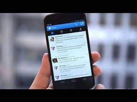 How To Change Your Twitter Name On Android Youtube