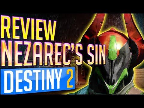 Destiny 2 NEZAREC'S SIN REVIEW EXOTIC Warlock Helmet - VOID POWER LORD