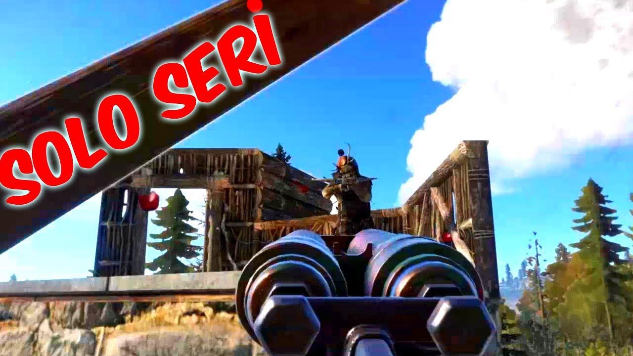 SOLO SERİ  Rust Türkçe Bölüm # 1