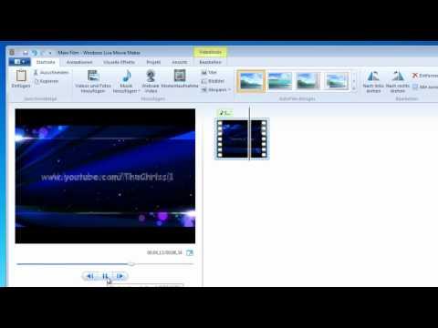 Tutorial: Windows Movie Maker - Musik Anpassen [German/Deutsch]