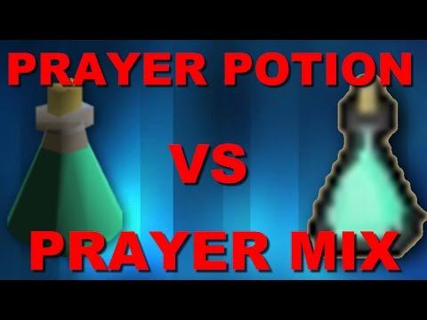 EXPLAINED!!! Prayer Potion Vs Prayer Mix - Old School Runescape