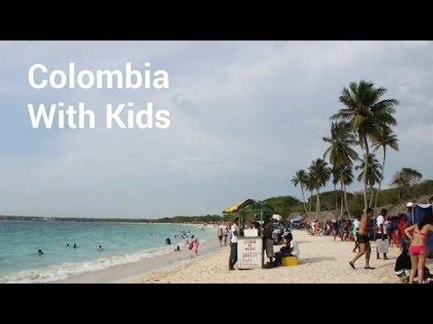 Colombia with kids - family travel guide