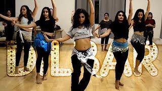 """DILBAR"" DANCE -  Neha, Dhvani & Ikka | @JBELLYBURN FUSION CHOREO @aatmaperformingarts"
