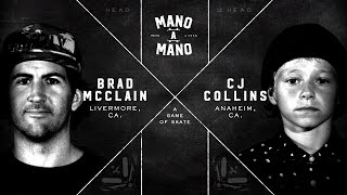 Mano A Mano Round 1: Brad McClain vs. CJ Collins