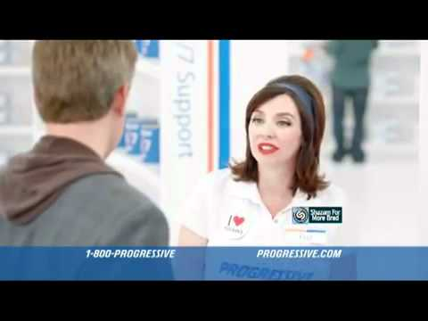 10 years of Flo, Progressive's accidental advertising icon